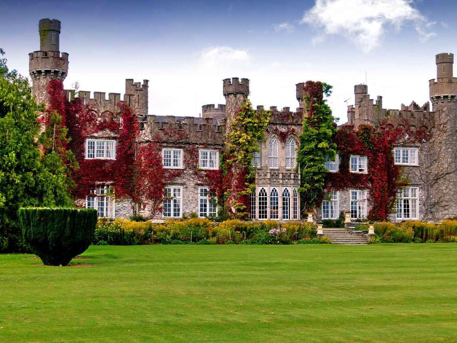Luttrellstown Castle in Ireland for an Ireland destination wedding in Europe