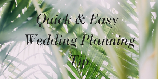 Quick and Easy Wedding Planning Tips | Mango Muse Events Destination Wedding Planner