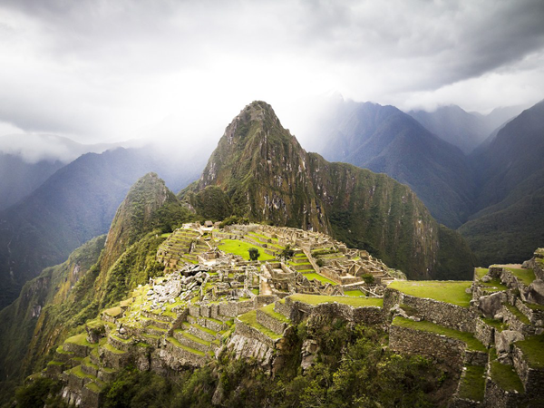 Machu Picchu, UNESCO World Heritage Site for Inca Ruins in Peru now with tourist restrictions